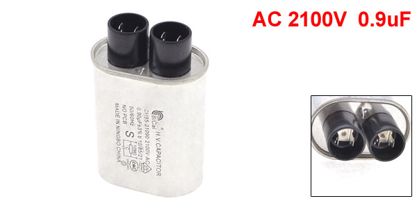 0.9uF 2100VAC 50/60Hz Microwave Oven High Voltage HV Capacitor