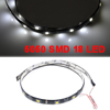 Adhesive White 5050 SMD 18 LED Auto Car Flexible Decor Strip Light 60cm Length