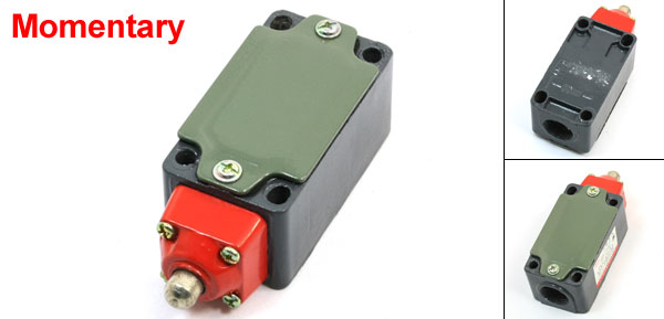 LXP1-120/C 1NO 1NC SPDT Momentary Push Plunger Actuator Limit Switch