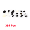 365 Pcs Plastic Rivets Door Clips Bumper Push w Case for Toyota A4
