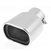 "2.4"" Inlet Dia Stainless Steel Square Opening Exhaust Muffler Tip for Auto Cars"