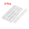 Silver Tone Type Wheel Balancing Weights Strip Sticker for Car Truck 5 Pcs