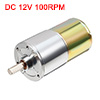 DFGB37RG-31.9i Cylinder Shape DC12V Speed 100RPM Geared Motor