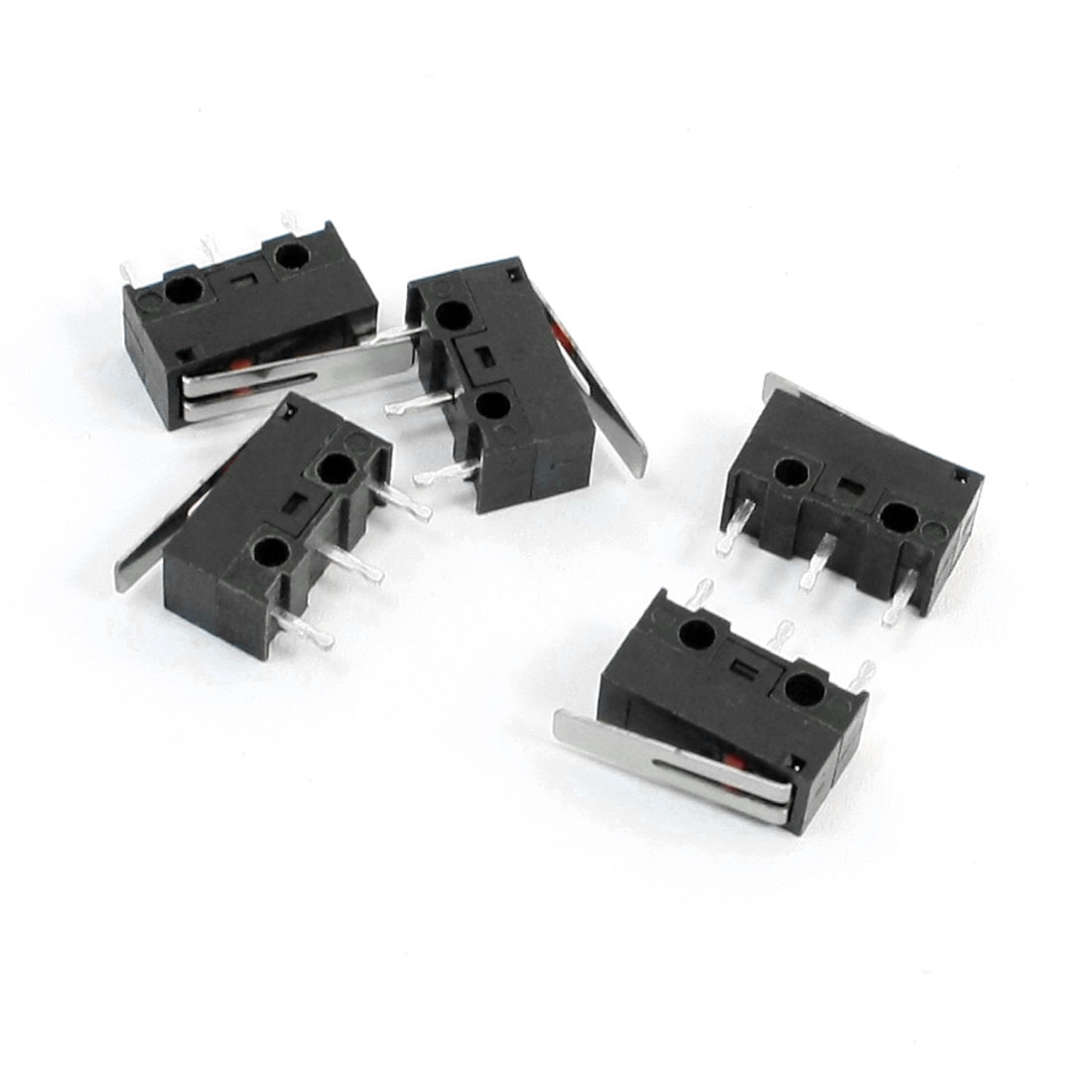 5-Pcs-N-O-N-C-SPDT-Short-Hinge-Lever-3-Pin-Micro-Switch-1A-125VAC