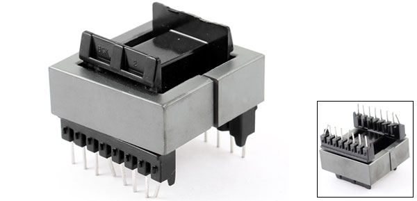 EE55 16 Pins EE Ferrite Magnetic Core Transformer Inductor