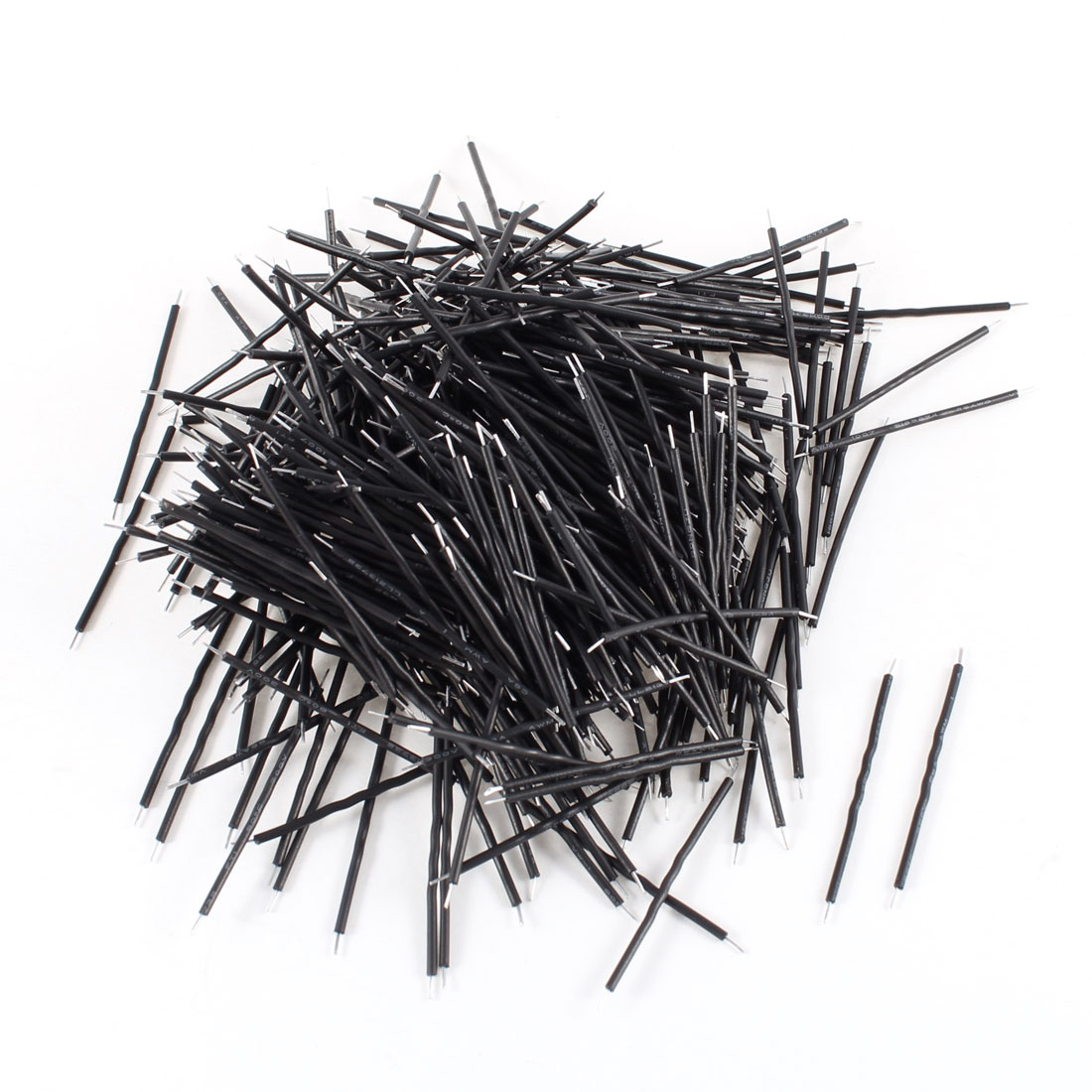 500pcs-Black-PVC-Coated-0-4x40mm-Tin-Plated-Brushless-Motor-Wire-Cable-26AWG