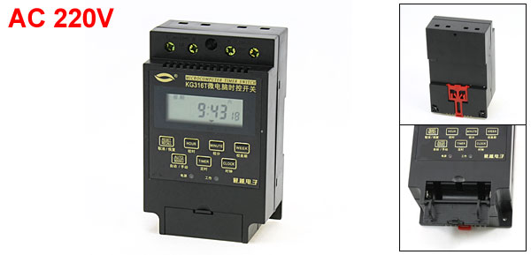 KG316T 1Min-168Hours Automatic Controller Microcomputer Timer Switch