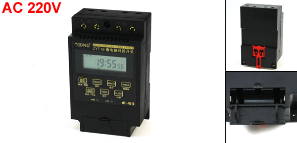 ZYT16 1Min-168Hours Automatic Controller Microcomputer Timer Switch