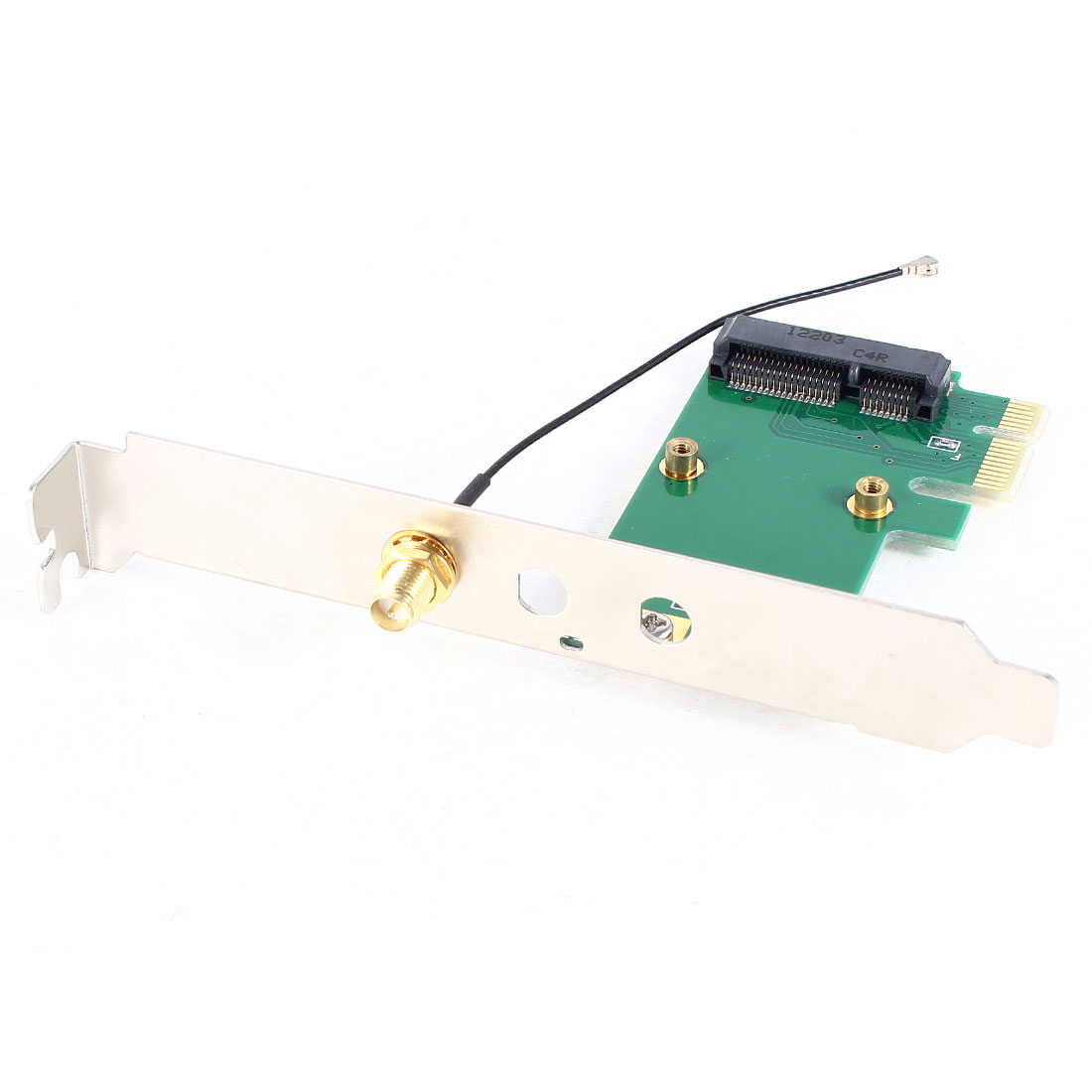 Computer-Laptop-to-Desktop-PCI-E-PCI-Express-Adapter-Connector-Converter-Green