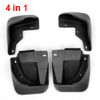 4 pcs Auto Black Plastic Front Rear Mud Flaps For Honda Accord 2....