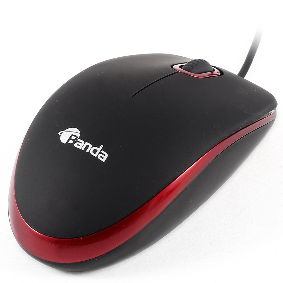 Red-LED-Light-1200DPI-USB-Plug-Wired-Optical-Game-Mouse-Black-for-Desktop-Laptop