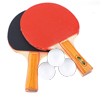 Pair Wooden Ping Pong Paddles Recreational Table T...