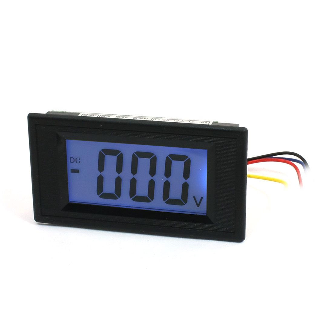 Blue-LCD-Display-3-Digits-DC-0-500V-Digital-Panel-Voltmeter