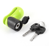 Yellow Black Safety Security Motorcycle Disc Lock ...