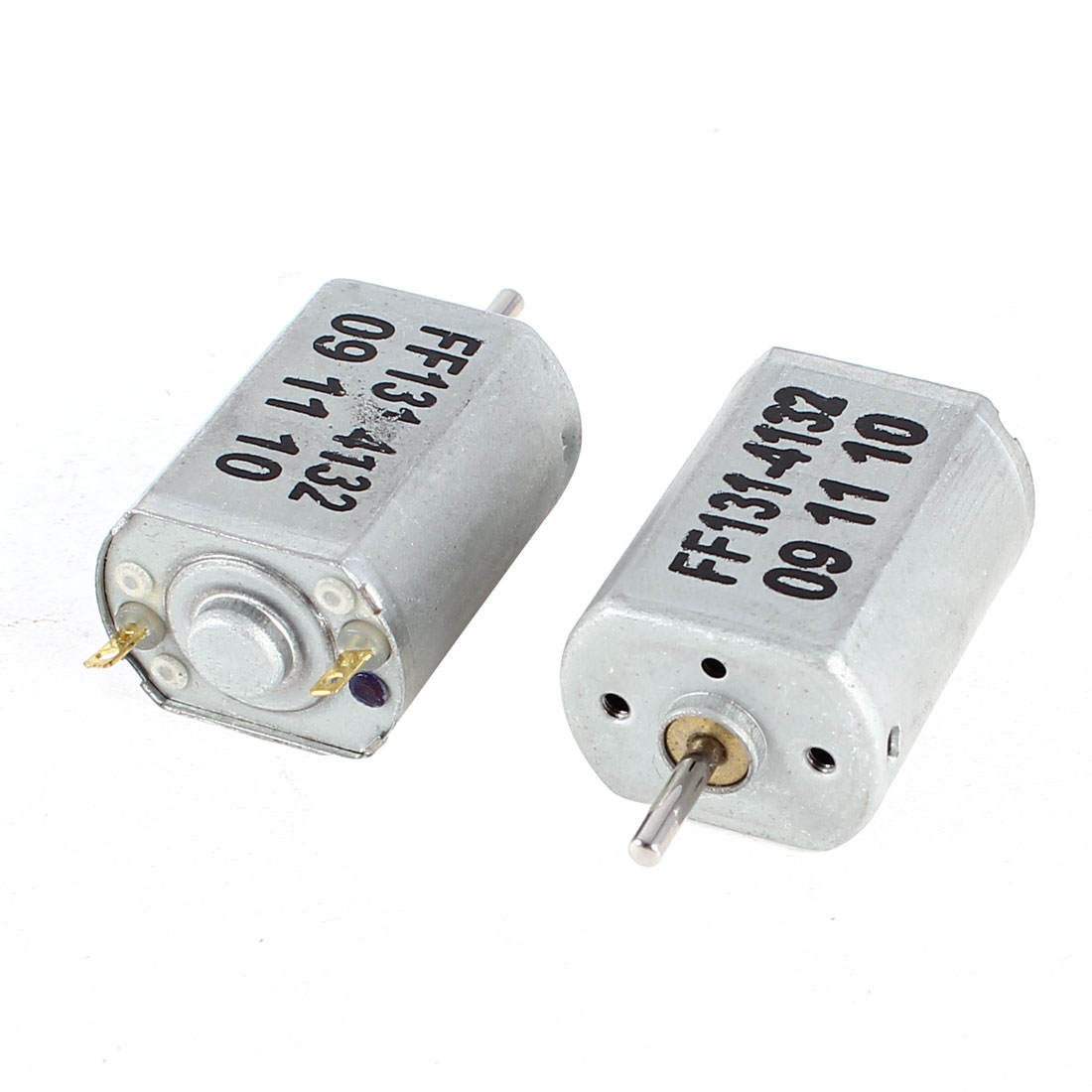 Silver-Tone-8000R-Min-2mm-Shaft-DC-3V-High-Torque-Mini-Micro-Motor-2-Pcs