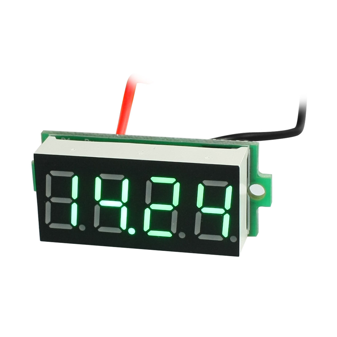 0-36-Green-LED-Display-Panel-Meter-2Wire-Digital-Voltmeter-DC3-5-30V