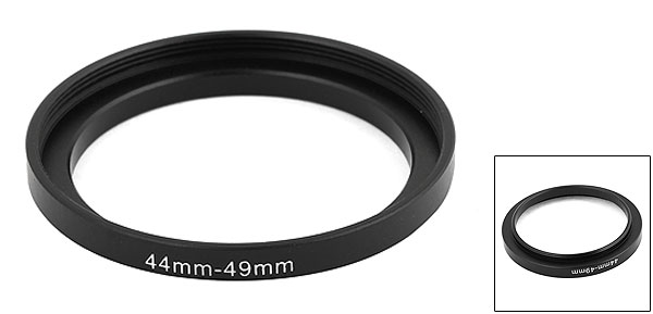 Step Down Lens Filter Ring Stepping Adapter 44mm-49mm for Canon Nikon Camera