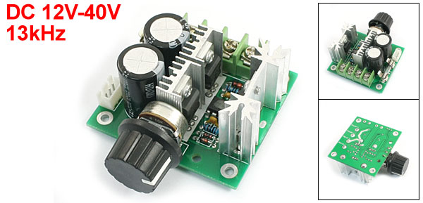 K20 12V-40V 8A PWM 13kHz DC Motor Speed Control Switch Controller