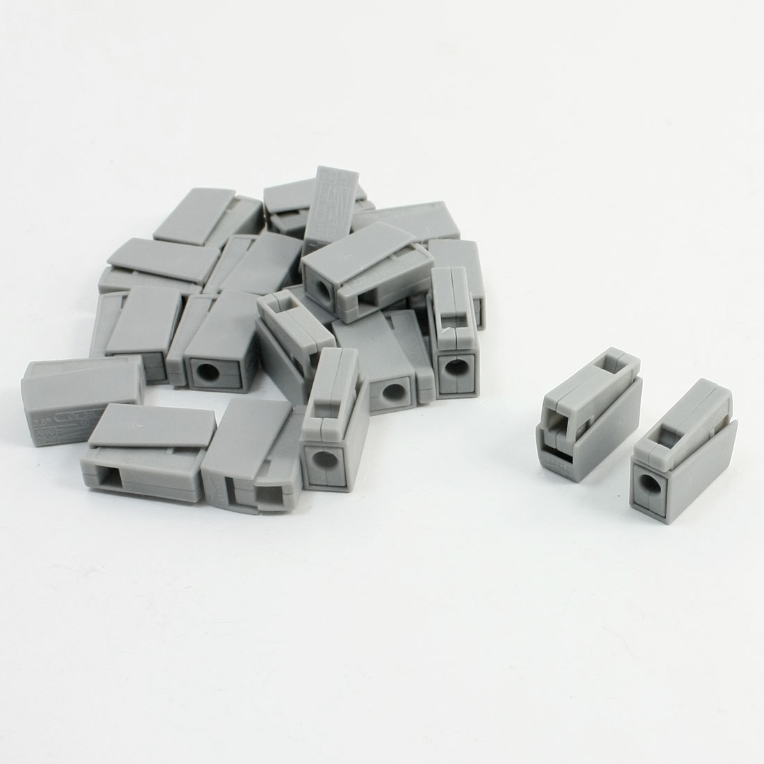 1-0-2-5mm2-0-5-2-5mm2-2-Wire-Quick-Connector-Block-AC-250V-24A-20-Pcs