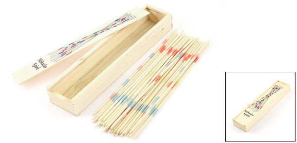 Pick Up Stick Mikado Spiel Wooden Classic Puzzles Intellect Game