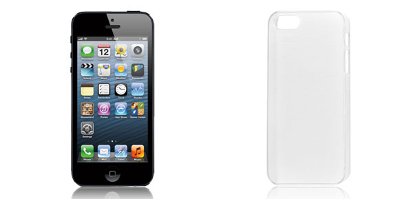 White Plastic Shield Back Case Cover Protector for Apple iPhone 5 5th