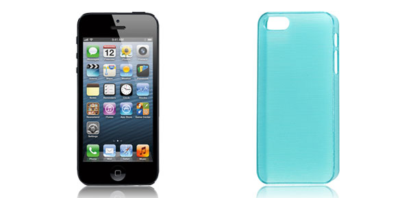 Green Plastic Shield Back Case Cover Protector for Apple iPhone 5 5th