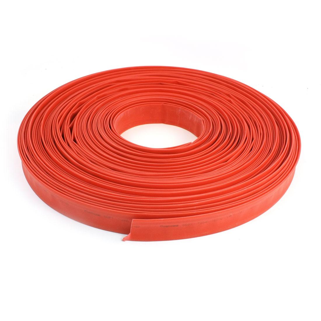 600V-Red-Polyolefin-20mm-2-1-Halogen-Free-Heat-Shrink-Tube-100M-328Ft