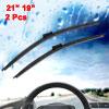 "19"" x 21"" Bracketless Windscreen Wiper Blades 2 Pc..."
