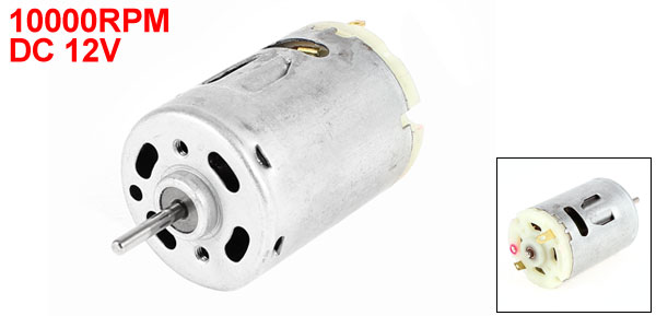 DC 12V 10000RPM 2.3mm Shaft Magnetic Electric Motor Replacement