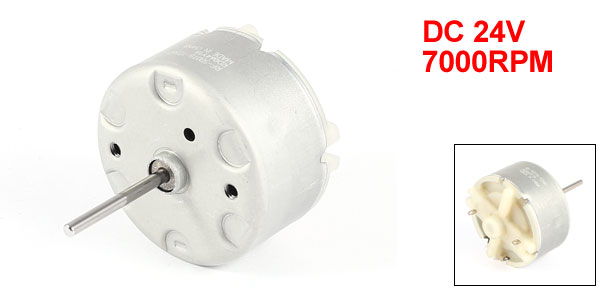 DC 24V 7000RPM 2mm Shaft Magnetic Electric Gear Box Motor Replacement