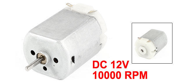 DC 12V 10000RPM Magnetic Speed Gear Box Micro Electric Geared Motor