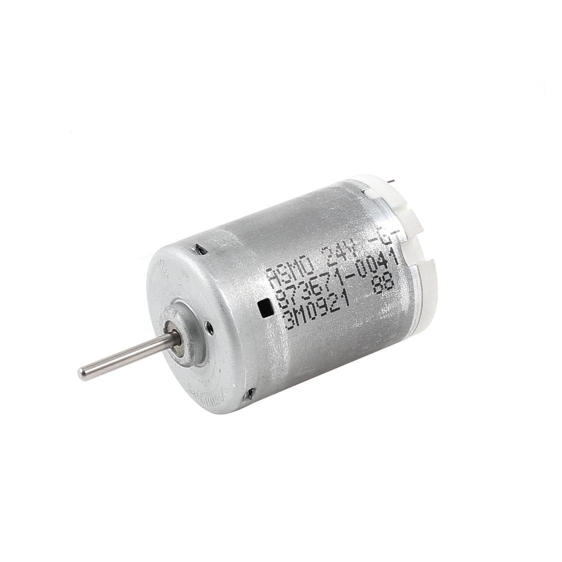 Silver-Tone-8960RPM-Speed-2-3mm-Shaft-High-Torque-Mini-Micro-Motor-DC-24V
