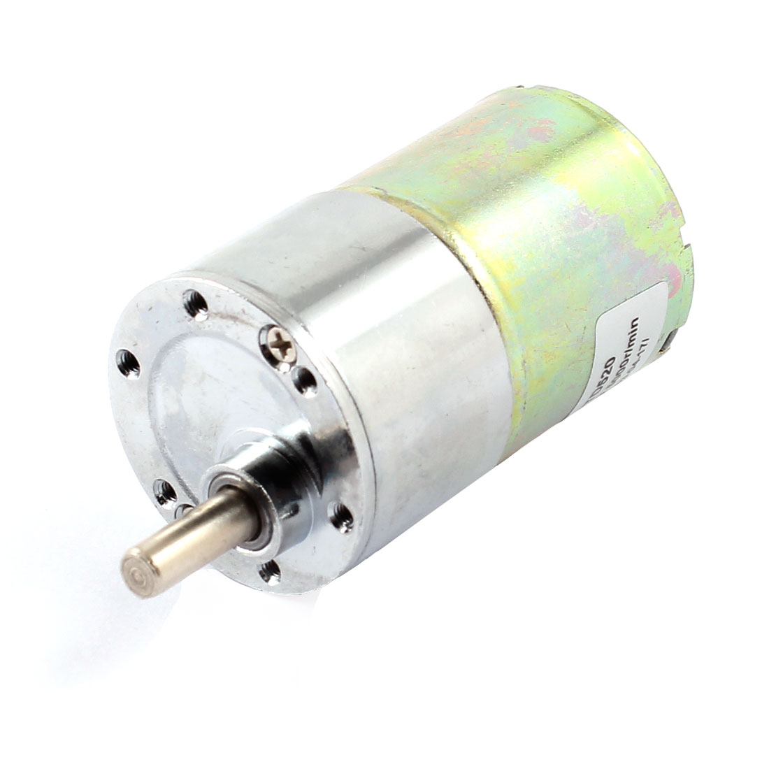 6mm-Shaft-2-Pin-Connector-Cylinder-Shape-Gear-Box-Motor-DC12V-5000R-MIN