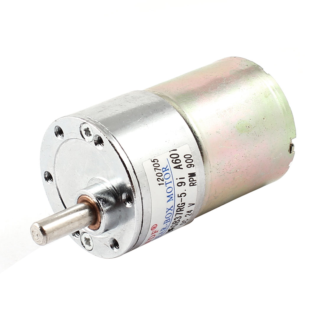 DC-24V-900RPM-2-Pin-Connector-Magnetic-Geared-Box-Speed-Reduce-Motor