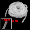 14mm Outside Dia 6.3M PE Polyethylene Spiral Cable...