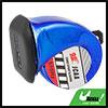 Car 12V 510Hz  Design Loud Trumpet Horn Blue for Toyota