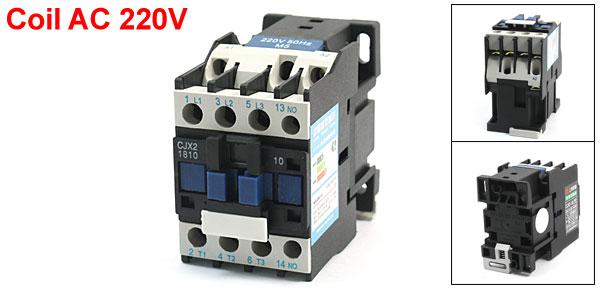 50HZ 220V Coil 32A Motor Control NO Contact AC Contactor CJX2-1810
