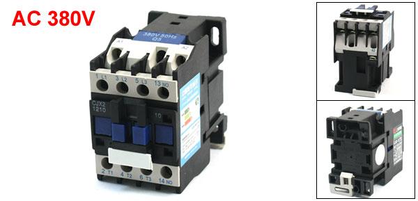 50HZ 380V Coil 20A Motor Control NO Contact AC Contactor CJX2-1210