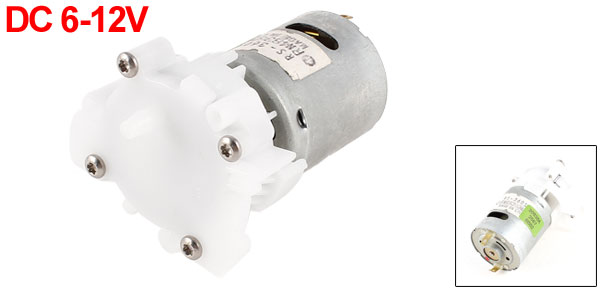 Water Pump RS-360S 4mm Tube Dia DC 6-12V Mini Micro Motor Replacment