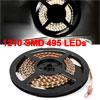 5M Length White 1210 SMD 495 LEDs Flexible Car Lig...