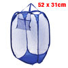 Blue Strap Nylon Netty Foldable Tidy Clothes Stora...