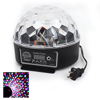 AC90-240V US Plug Disco DJ Colorful Stage Lighting LED Club Party Crystal Magic Ball DMX Light KTV