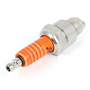 Torch E6TC Orangered Spark Plug for Womens Motocycle