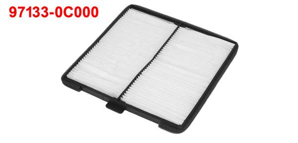 Acropix 97133-0C000 Active Carbon Fiber A/C Cabin Air Filter for Hyundai Accent