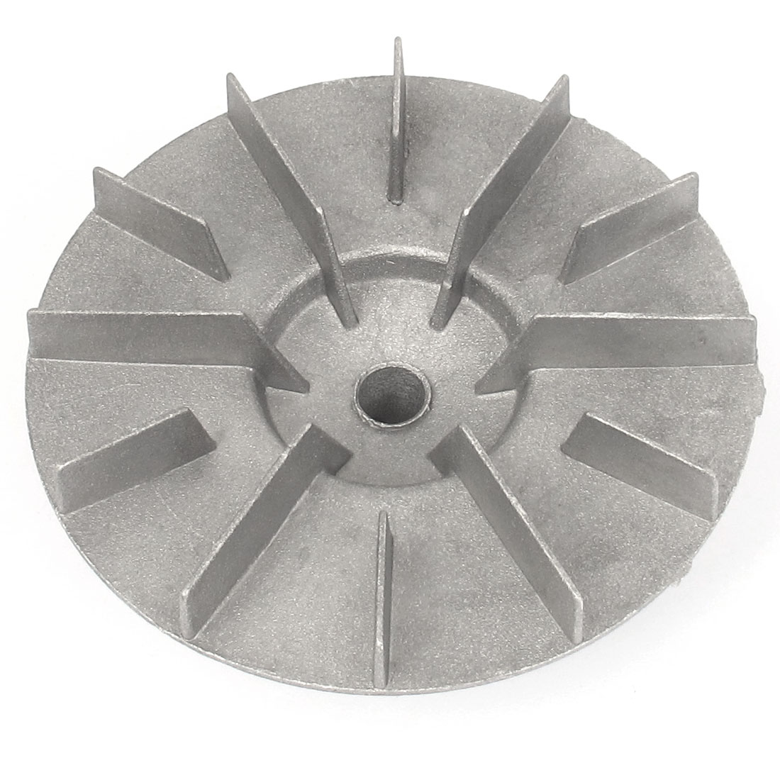12mm Bore Dia Silver Tone Aluminum Centrifugal Blower Fan Impeller Vane Wheel