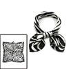 women square shaped zebra prints casual ...