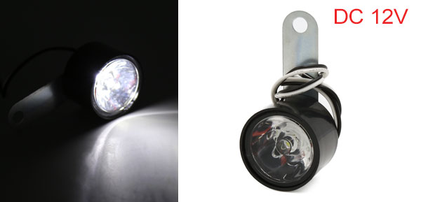 F FIERCE CYCLE Motorcycle Motorbike LED Emergency Warning Flash Strobe Light Lamp Bulb White