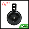 Electric Motorcycle ATV Waterproof 67mm Dia Loud Horn Speaker 48V...