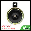 Waterproof Moped Motorcycle Scootee Electronic Loud Horn 12V 110d...