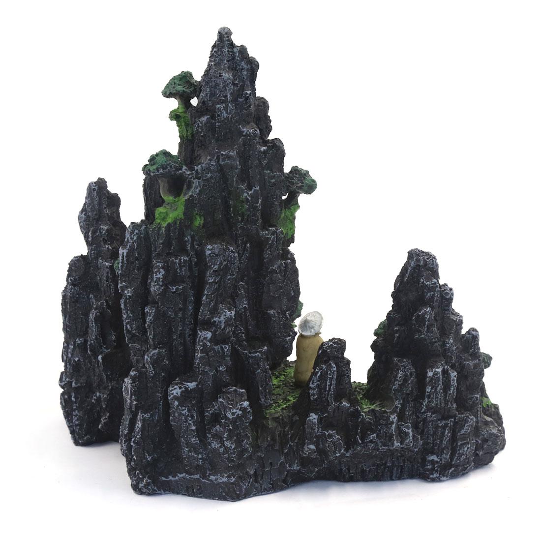 24x14x30cm Colline de rocaille de récif artificielle Décoration d'aquarium 2